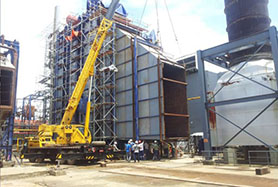 Myanmar Project Installation Progress